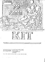 Arcade Game Manual: Pop Flamer : Free Download & Streaming