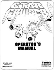 Star Cruiser Game Manual by Ramtek : Free Download, Borrow