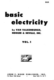 Basic Electricity Vol 1 To Vol 5 Van Valkenburgh : Rider