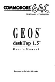 Commodore C64 Manual: geoCalc 128 (1987-12)(Berkeley