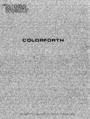 Radio Shack CoCo Manual: ColorForth v1.0 (1981)(Talbot