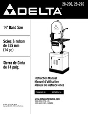 DELTA 22-555 Planer Manual : Free Download, Borrow, and