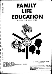 ERIC ED025783: Family Life Education. A Guide to a