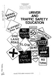 ERIC ED044866: Cooperative Driver Education Manual for the