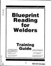 Blueprint reading for welders : Bennett, A. E : Free
