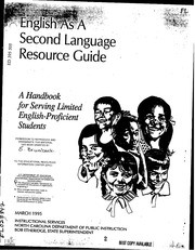 ERIC ED357619: English as a Second Language Curriculum