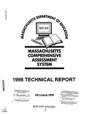 ERIC ED451227: Massachusetts Comprehensive Assessment