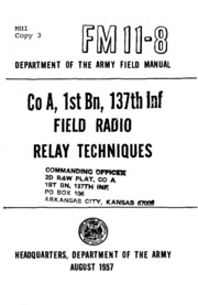 FM 38-1 Logistics Supply Management 8-11-1958 : Military