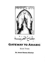 Gateway to Arabic Book 3 : Free Download, Borrow, and