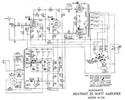 Heathkit EA 2 Hi Fi Amplifier (schematic) : Free Download
