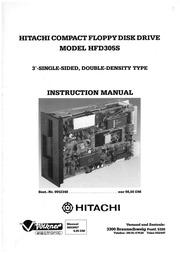 Hitachi HFD305S Instruction Manual : Hitachi : Free