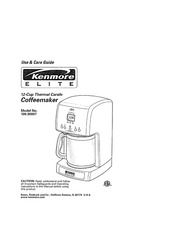 Kenmore 100.90007 Coffeemaker User Manual : Kenmore : Free