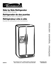 Kenmore 795.775626 Refrigerator User Manual : Kenmore