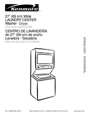 Kenmore 26-88752 Washer Dryer Spec Sheet : Kenmore : Free