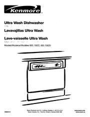 Kenmore 665.15622 Dishwasher User Manual : Kenmore : Free