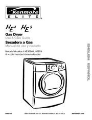 Kenmore ELITE 796.6927# Clothes Dryer User Manual