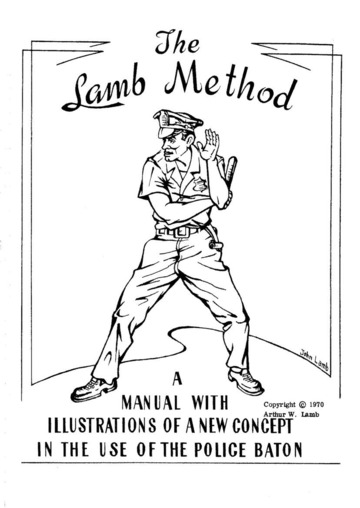 The Lamb Method: A Manual with Illustrations of a New