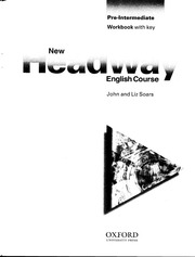 New Headway Pre Intermediate Workbook With Key Unit 1 14