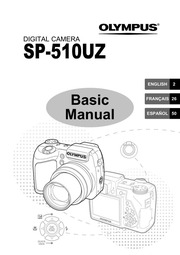 Olympus SP-510UZ Digital Camera Basic Manual : Olympus
