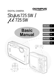 Olympus Stylus 725 SW Repair Manual : Free Download