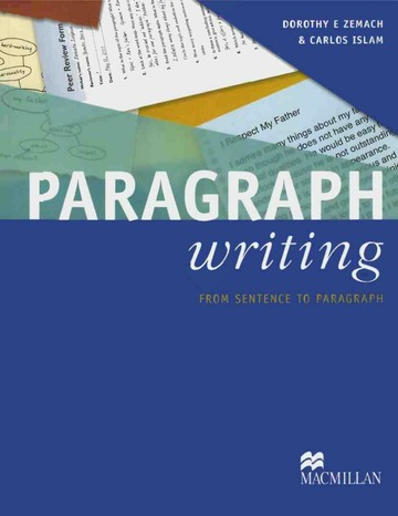 Paragraph Writing From Sentence To Paragraph : Free