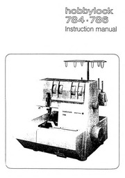 Pfaff 784-786 Hobbylock Manual : Free Download, Borrow