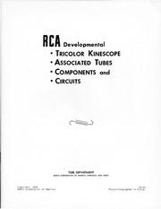Electron Tube Design : Radio Corporation of America : Free