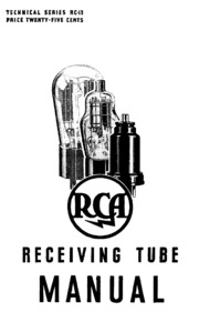 Vacuum Tube Manual: RCA RC-30 1975 : Free Download, Borrow