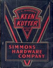 Simmons Hardware Catalog