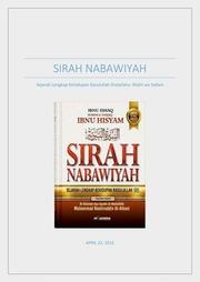 Sirah Nabawiyah Ibnu Hisyam Jilid 2 Pdf : sirah, nabawiyah, hisyam, jilid, Terjemahan, Sirah, Nabawiyah, Hisyam, REVIEW