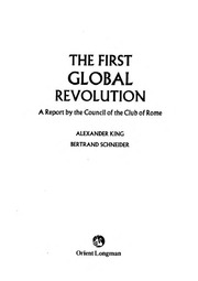 The First Global Revolution : Club Of Rome : Free Download