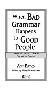 When Bad Grammar Happens to Good People.bigfavorite