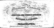 Spencerian key to practical penmanship : Spencer, H. C