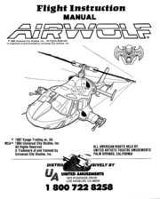 Airwolf Flight Instruction Manual : Free Download, Borrow