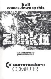 Zork III manual : Free Download, Borrow, and Streaming