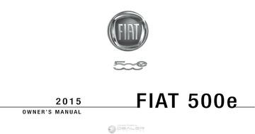 Car Service Manuals: fiat 2015-500e : Free Download