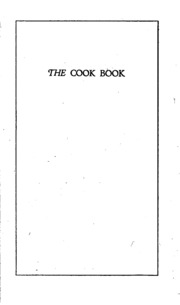 Cook book : Home Economic Club of the Four Counties Group