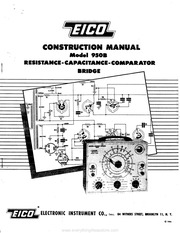 Eico: eico model 950b bridge : Free Download, Borrow, and
