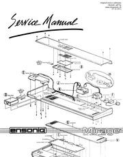 Ensoniq: esq 1 musicians manual : Free Download, Borrow