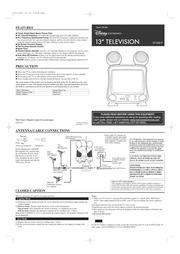 Sylvania TVK131A TVK191A CRT Television User Manual : Free