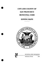 San Francisco Zoning Code : City and County of San