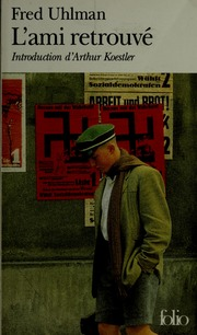 L Ami Retrouvé Film Streaming : retrouvé, streaming, L'ami, Retrouve, Uhlman,, Download,, Borrow,, Streaming, Internet, Archive