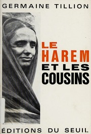 Le Harem Et Les Cousins : harem, cousins, Harem, Cousins, Tillion,, Germaine, Download,, Borrow,, Streaming, Internet, Archive