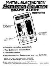 Handheld Game Manual: Horoscope Computer (Mattel) : Free