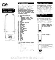 Genie Garage Door Opener AR85 user manual : Free Download