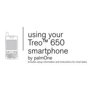 Palm Treo 650 user manual : Free Download, Borrow, and