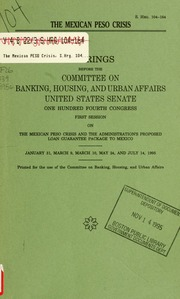 Condominium consumer protection act of 1975 : hearings before the Committee on Banking. Housing and Urban Affairs. United States Senate. Ninety ...