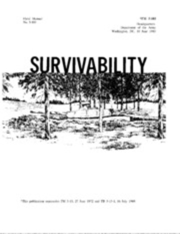 FM 5-103 Survivability : Free Download, Borrow, and