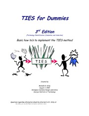 TIES for Dummies 3rd Edition (Technology Identification