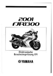 Yamaha FJR 1300 TechnikZusatz Service Manual : Free